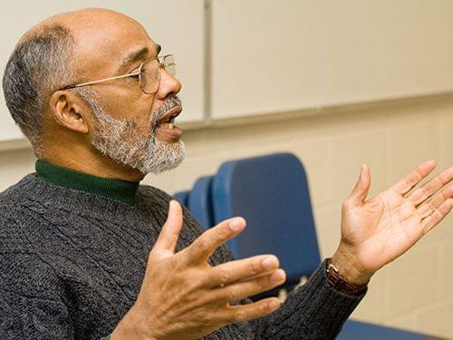 Leon Dash, Professor of Journalism at Illinois