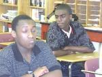 Urbana High School students Monandi and Elijah