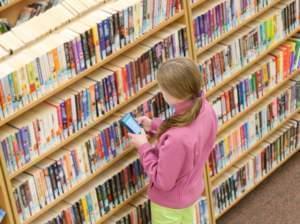 school in library