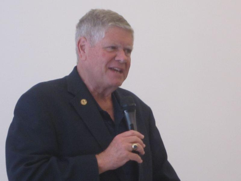 State Senator and U.S. Senate candidate Jim Oberweis