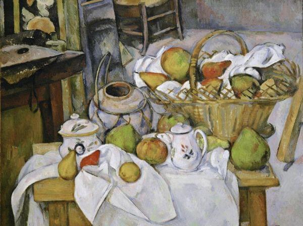"The Kitchen Table (La table de cuisine) by Paul Cezanne, 1888-18€""90."