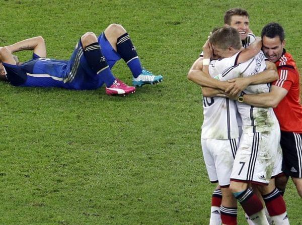 Germany defeats Argentina for World Cup
