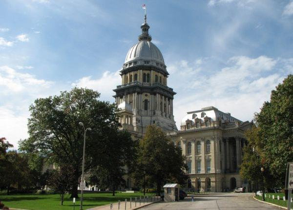 The Illinois Capitol Building is pictured in Springfield, Illinois, 2009.