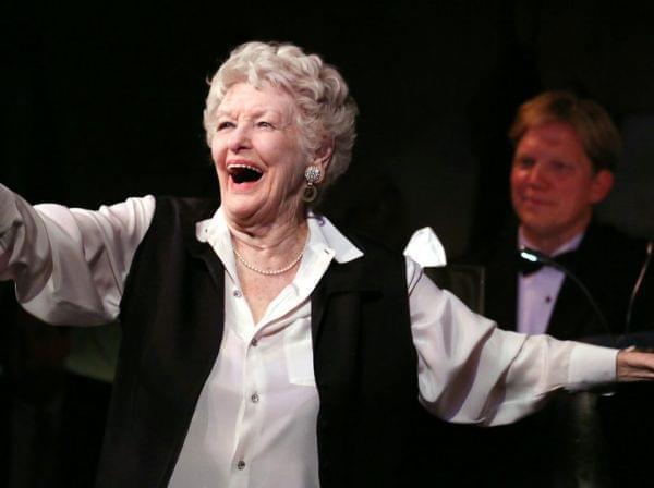 Elaine Stritch at the Cafe Carlyle in 2013.