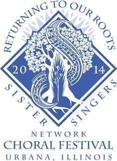 Logo for the 11th Sister Singers Network National Women's Choral Festival