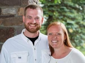 Dr.  Kent Brantly, and his wife, Amber