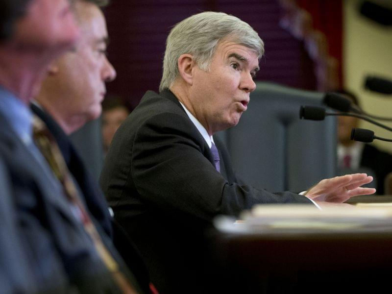 NCAA President Mark Emmert on Capitol Hill