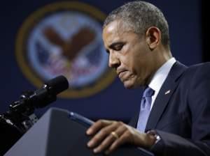 President Obama at Fort Belvoir, Va.