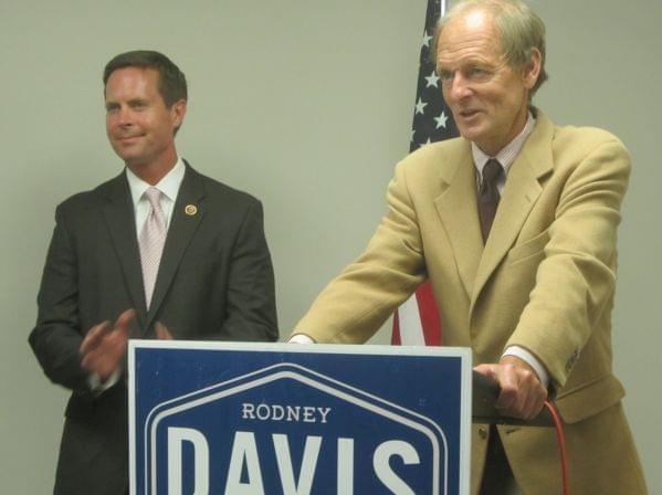 Tim Johnson endorses Congressman Rodney Davis