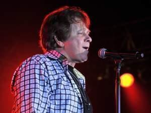 Eddie Money performing in Florida.