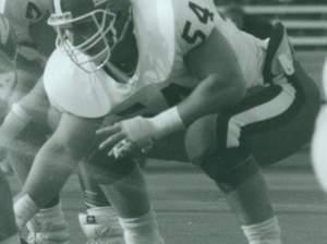 Former Illinois Football player Curtis Lovelace