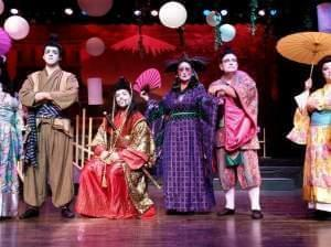 Photo of the cast of The Mikado