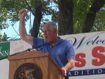 Gov. Pat Quinn at the Illinois State Fair Aug. 13.