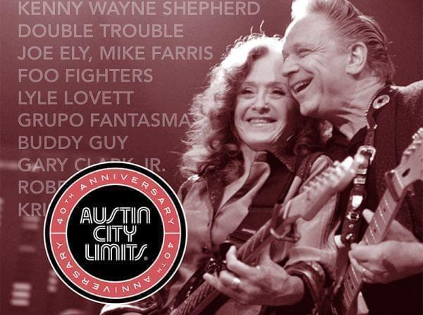 Bonnie Raitt in Austin City Limits 40th Anniversary Tribute