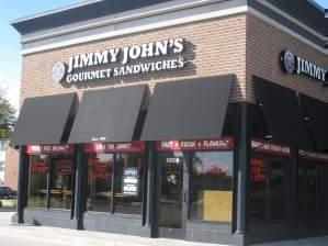 A Jimmy John's location in Urbana