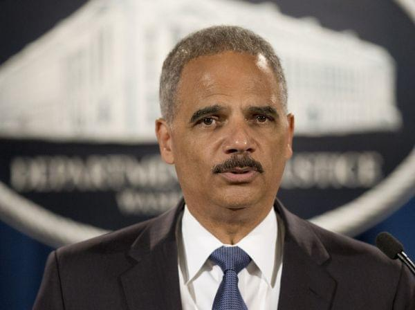 Attorney General Eric Holder speaks during a Sept. 4 news conference in Washington.