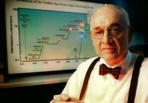 U of I Professor Emeritus and LED inventor Nick Holonyak