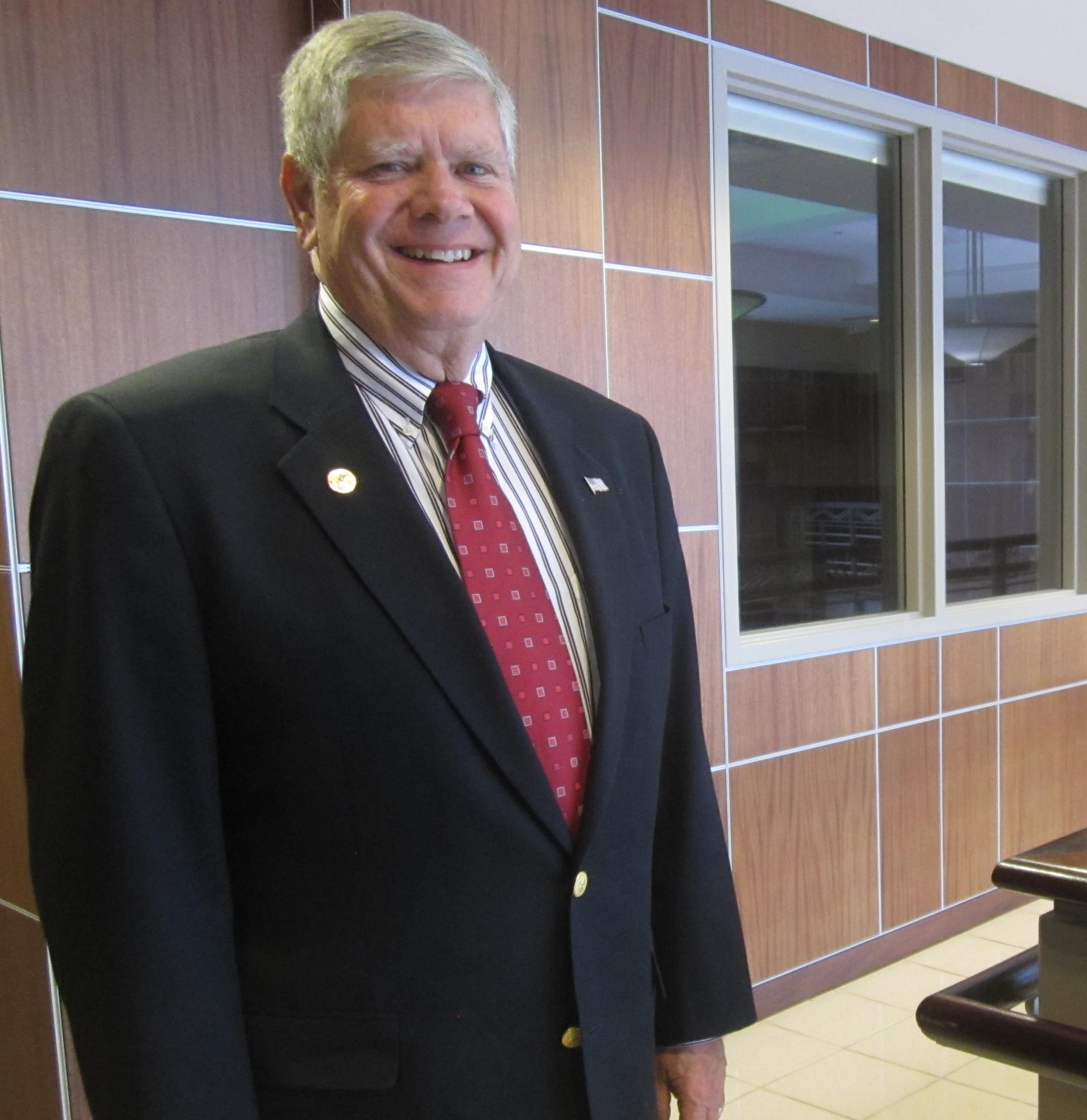 State Senator and dairy owner Jim Oberweis, Republican candidate for U-S Senate in Illinois.