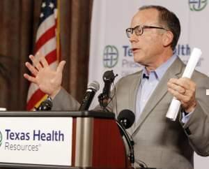 Texas Health Presbyterian Hospital Chief Clinical Officer Dr. Daniel Varga.