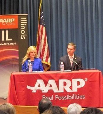 Ann Callis and incumbent Rodney Davis