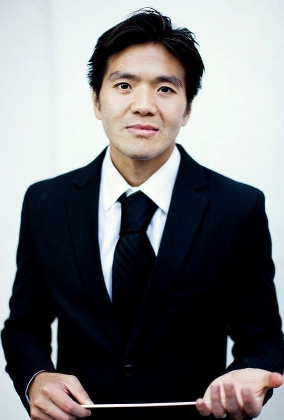 One World Symphony conductor and artistic director Sung Jin Hong.