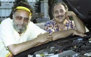 A 1991 file photo of brothers Tom and Ray Magliozzi.