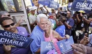 Florida Democratic gubernatorial candidate Charlie Crist.