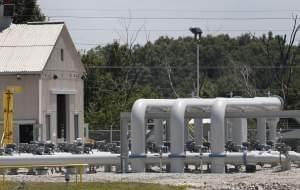 Pipe for Flanagan South Pipeline extends near Salisbury, Missouri in July 2013.
