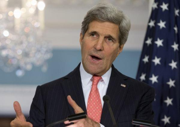 Secretary of State John Kerry in October 24 file photo.