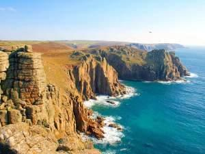 Land's End in Cornwall