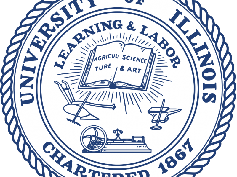 graphic of the seal of the university of illinois