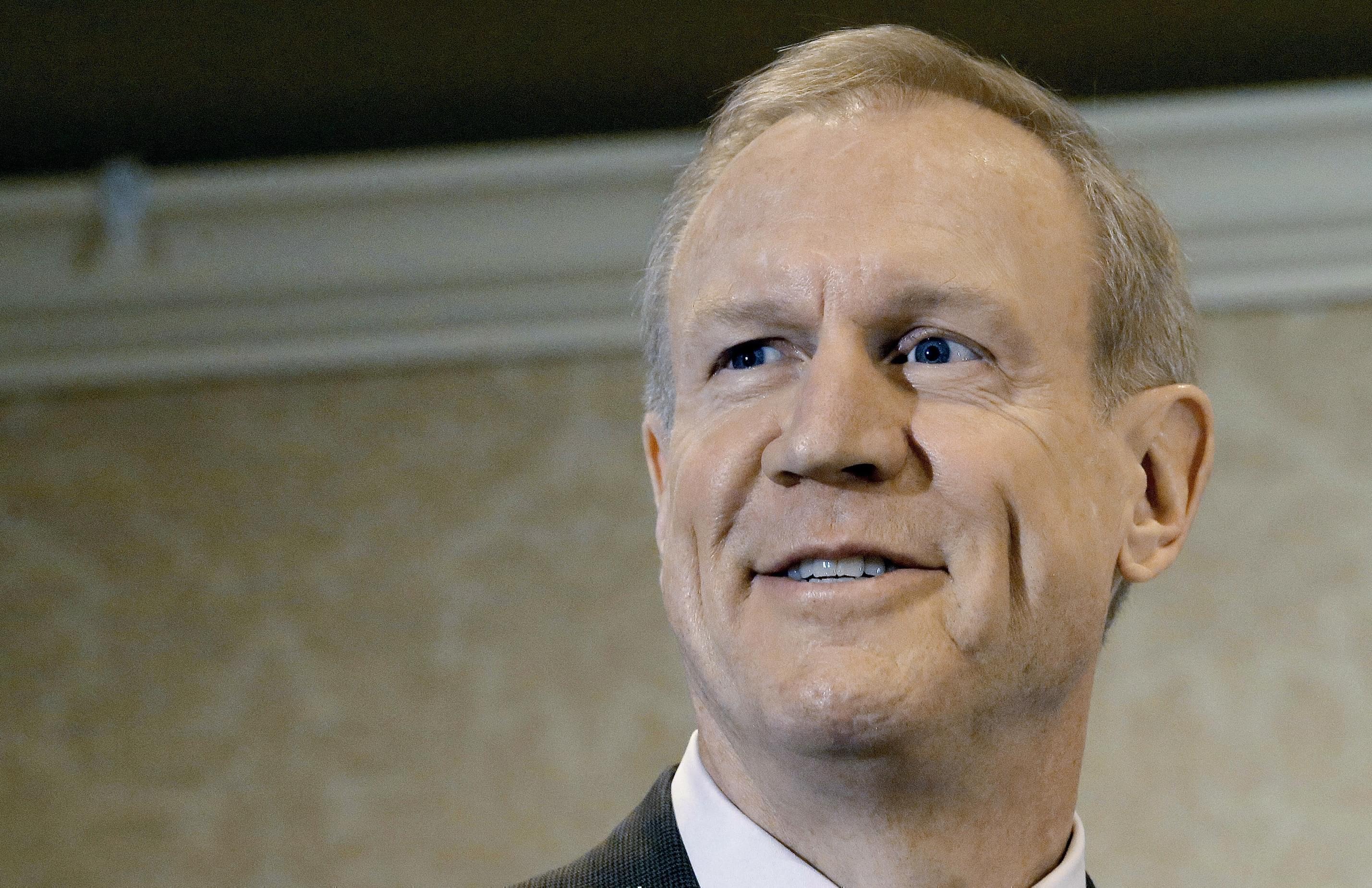Illinois Governor-elect Bruce Rauner.