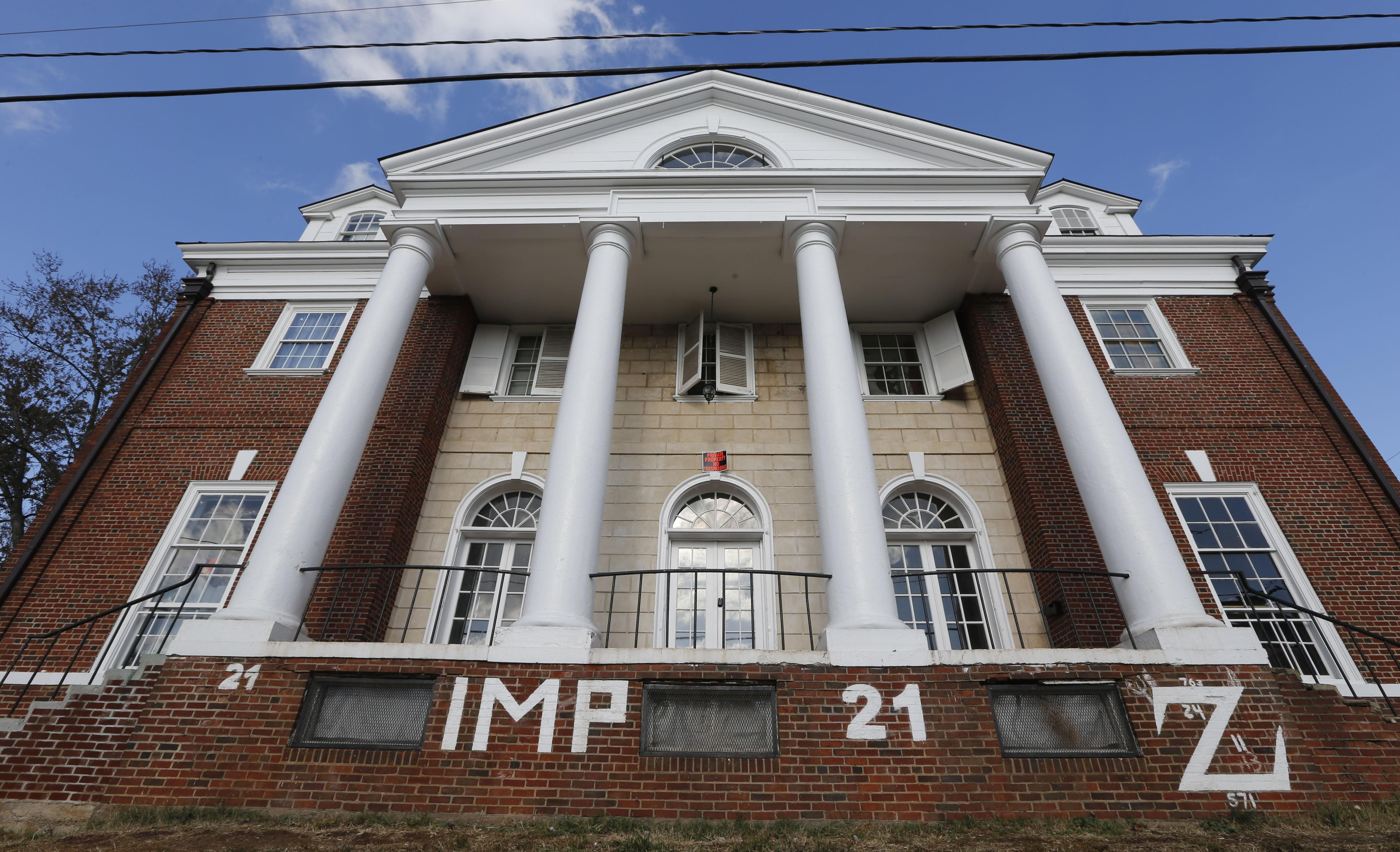 Phi Kappa Psi fraternity house at the University of Virginia