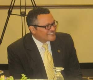 Kenneth Morris Junior, President of the Frederick Douglass Family Initiatives