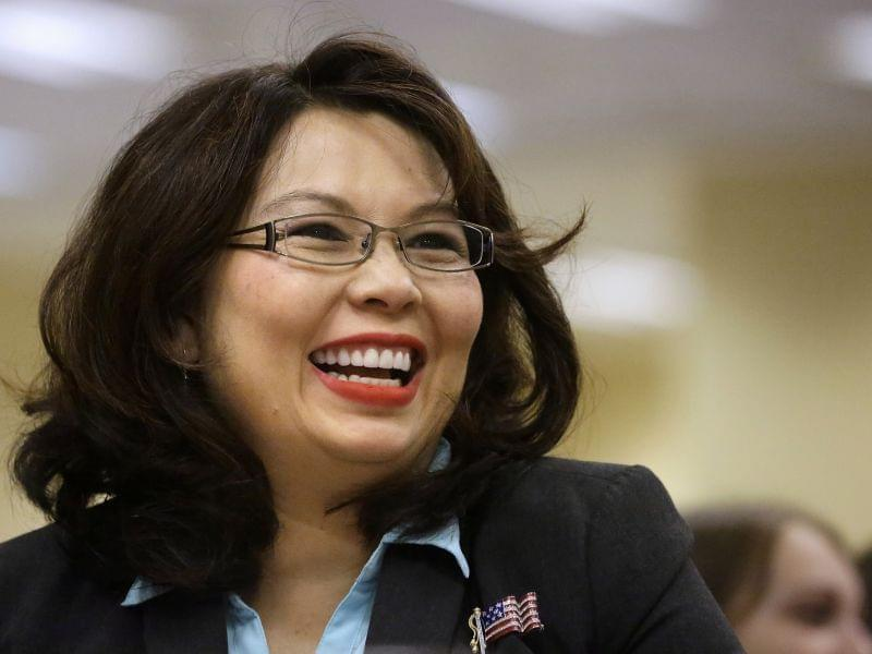 Congresswoman Tammy Duckworth in an August 13, 2014 file photo from Springfield.