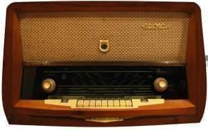 an early radio receiver