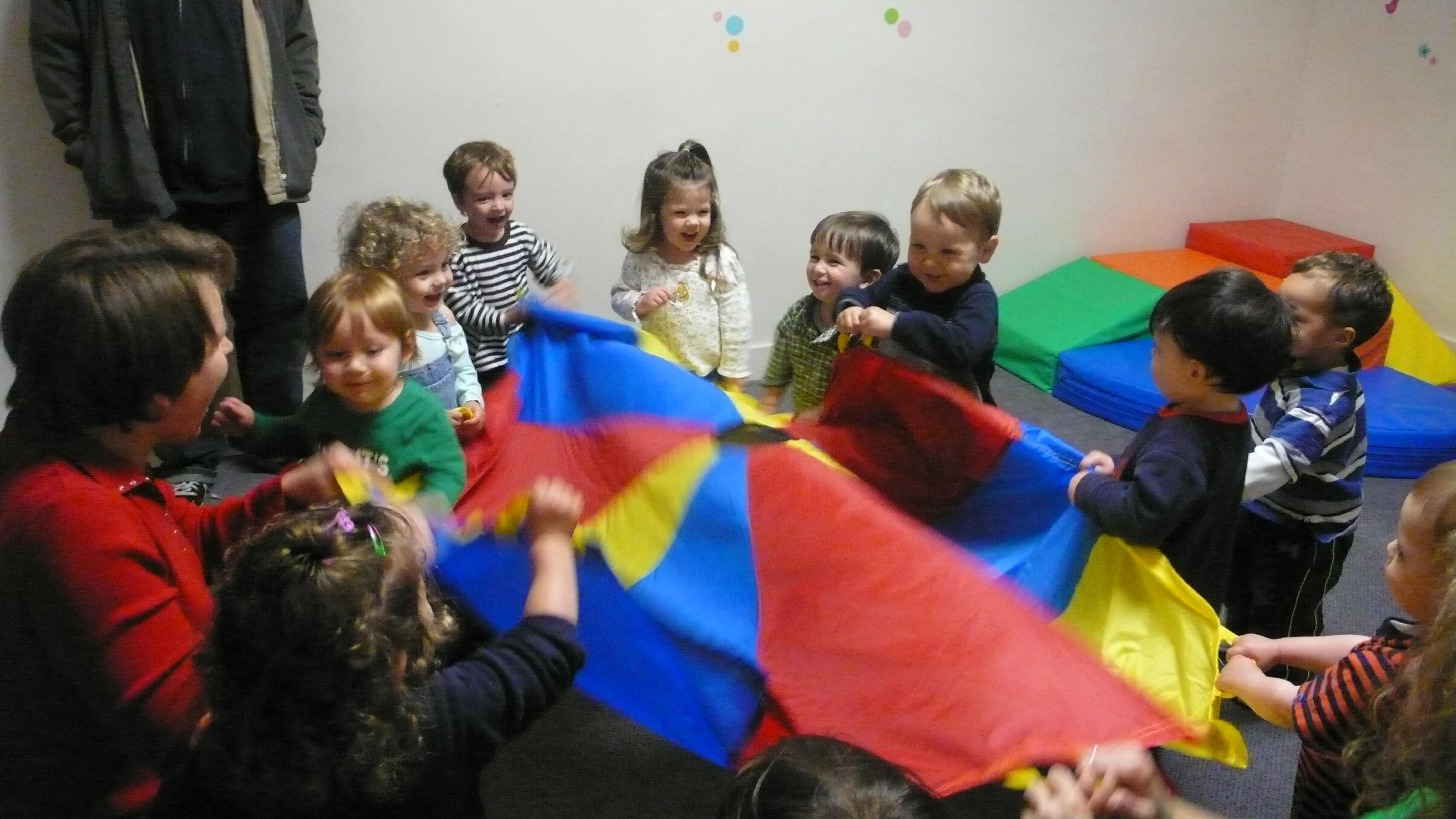 Kids at daycare