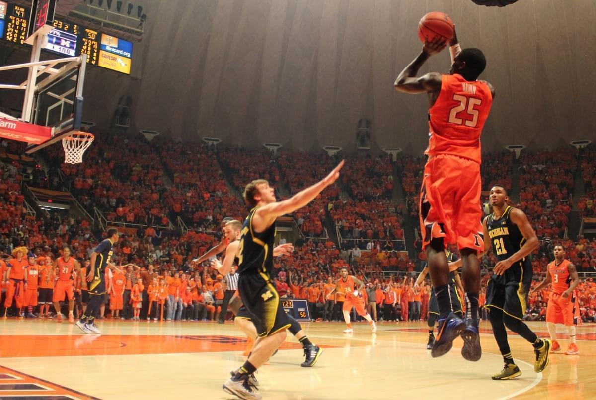 Kendrick nunn sent the game to overtime with a  three-pointer.