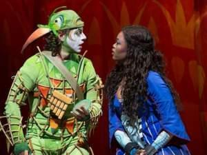 Markus Werba, left, and Pretty Yende star as Papageno and Pamina.
