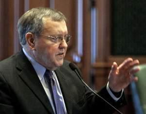 Former State Rep. Bill Black in November 2010.