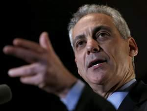 Chicago Mayor Rahm Emanuel on Tuesday, February 24th in Chicago.