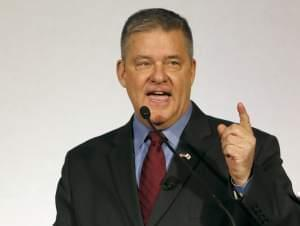 Former Illinois Treasurer Dan Rutherford in January 31, 2014 file photo.