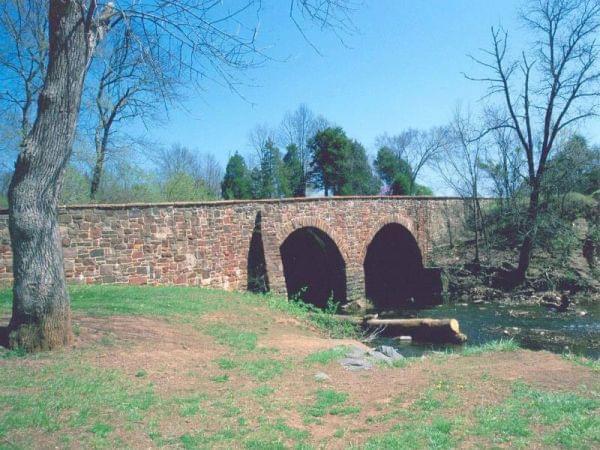 Stone bridge at Bull Run
