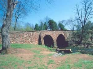 Stone bridge at Bull Run