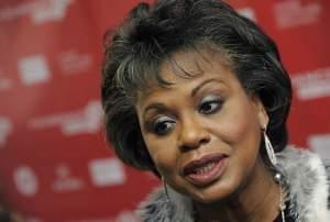 Anita Hill is interviewed at the 2013 Sundance Film Festival in Park City, Utah