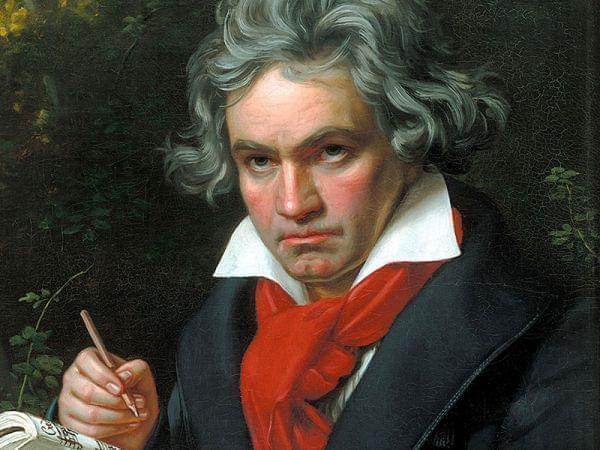 Portrait of Ludwig van Beethoven by Joseph Karl Stieler