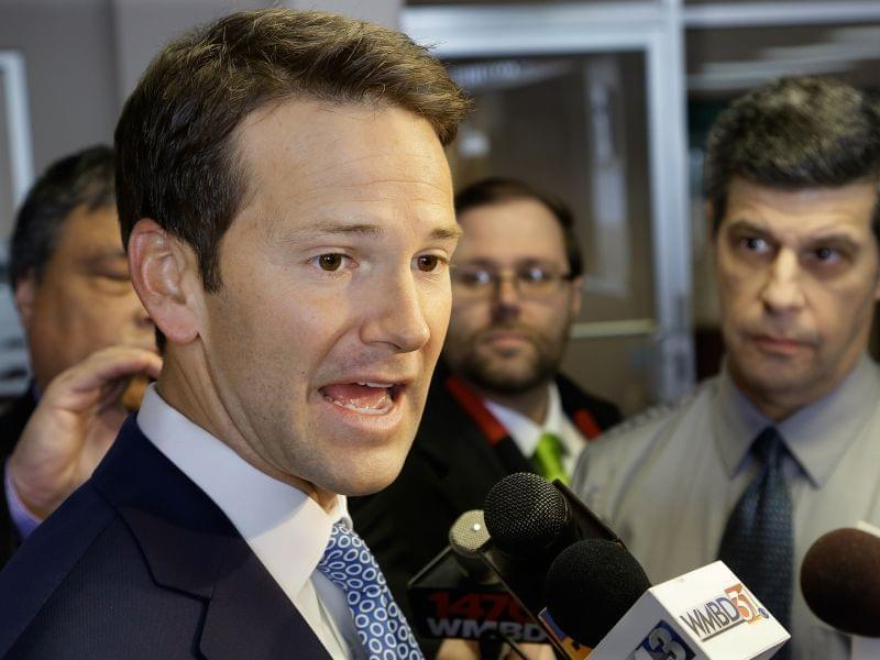 Former Congressman Aaron Schock, who resigned Tuesday.