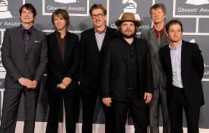 Members of the Chicago-based band Wilco at the 2012 Grammy Awards in Los Angeles.