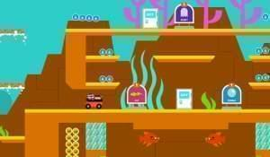 Screen shot from Kart Kingdom