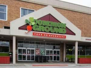 Common Ground Co-op at Lincoln Square Mall in downtown Urbana.